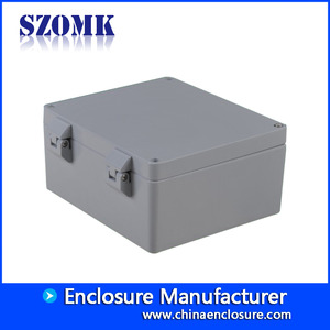 shenzhen factory IP66 die cast alumimun electronic enclosure size 230*200*110mm/AK-AW-86