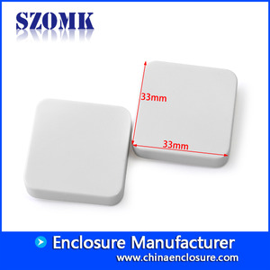 Chine small very design plastic enclosure for electronices AK-N-58 33*33*10mm usine