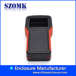 China szomk 4AAA battery holder plastic handheld control enclosure box/AK-H-64 factory