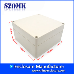 China Big plastic instrument housing IP65 electrical waterproof enclosure control box AK-B-6 263*185*95mm factory