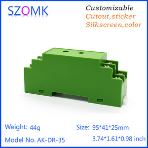 China szomk high quality plastic plc din enclosure factory