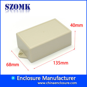 China wall mount plastic box enclosure electronic plastic electronic enclosure plastic housing ak-w-53 factory