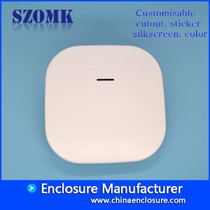 China white new style Plastic Network Enclosure Electrical Wifi Router Casing Box 190*190*35 factory