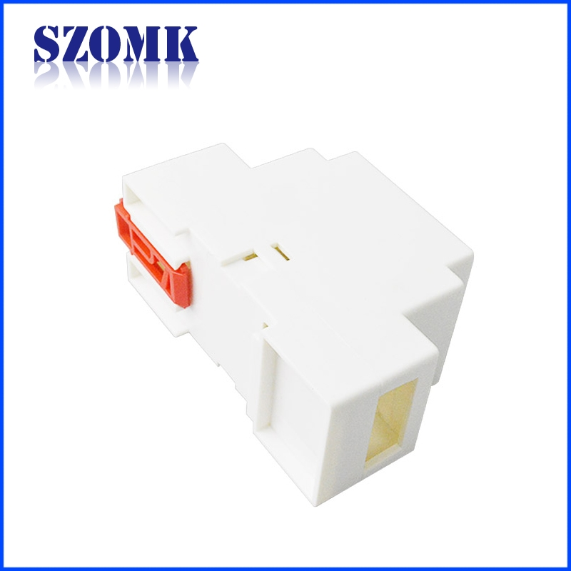 China ABS electrical junction box 88X37X59mm ip 54 din rail enclosure/AK-DR-01