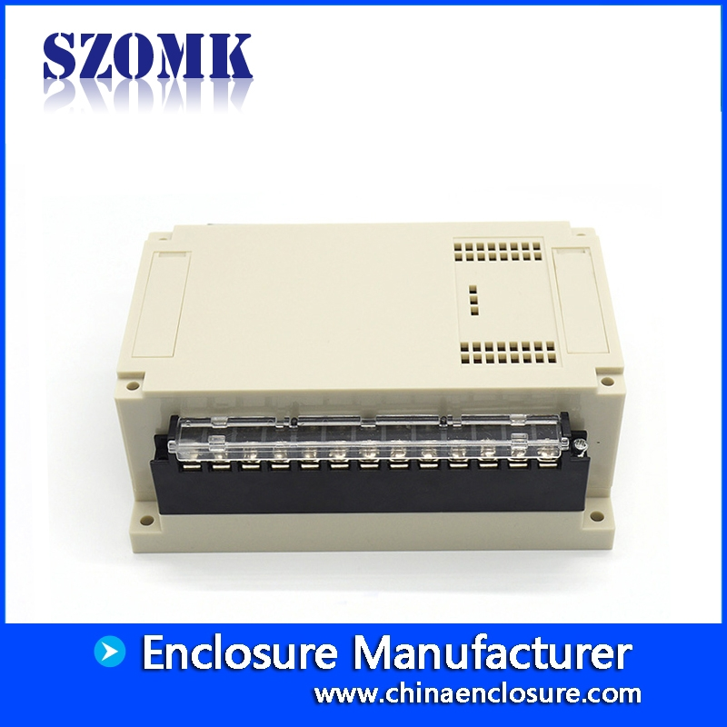 Rail Terminal Block Enclosure Plastic Control Box Chinese supply ...DIN Rail Terminal Block Enclosure Plastic Control Box Chinese supply SZOMK  155*110*60mm