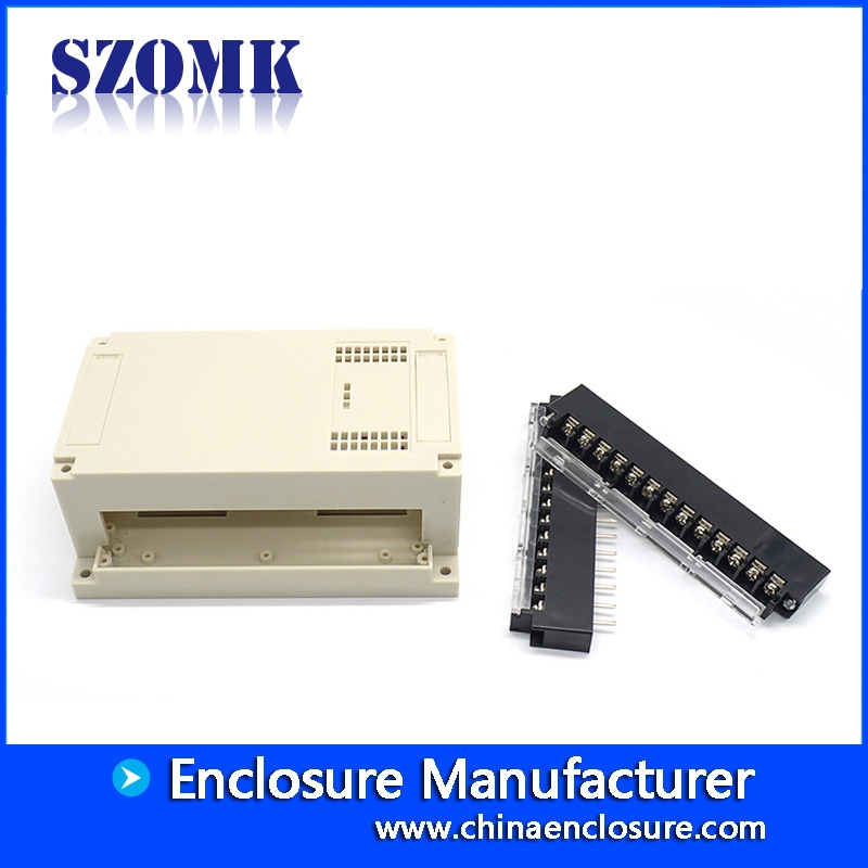Rail Terminal Block Enclosure Plastic Control Box Chinese supply ...... DIN Rail Terminal Block Enclosure Plastic Control Box Chinese supply  SZOMK 155*110*60mm ...