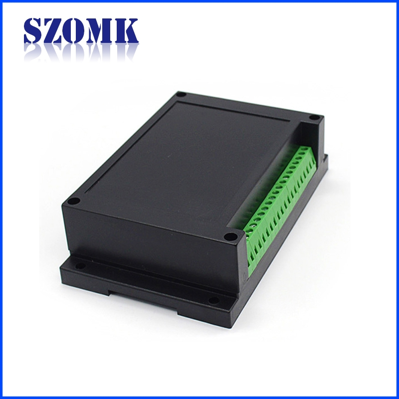 Terminal Block Plastic Din Rail Enclosure For Electronic