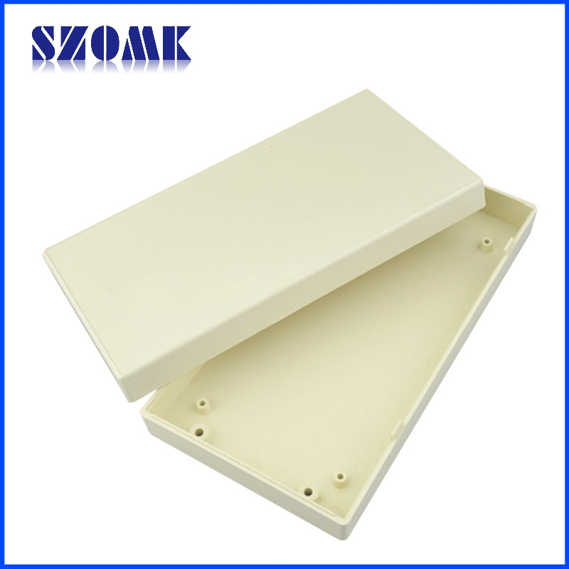 Beige Electrical Plastic Enclosure For Pcb Outlet Junction