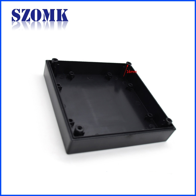 Black Plastic Electrical Enclosures : Plastic housing for pcb abs enclosure switch