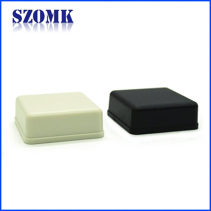 Shenzhen hot sale 41X41X15mm electrical abs plastic junction enclosure manufacture/AK-S-72