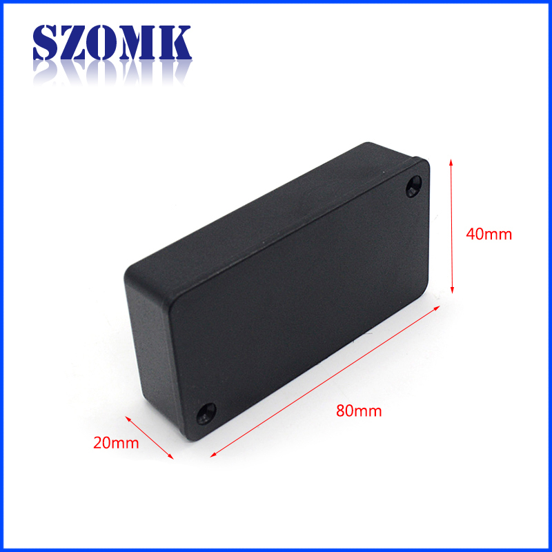White And Black Color Little Box Small Plastic Terminal