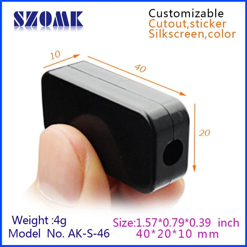 Hot Selling Small Electrical Plastic Instrument Boxes